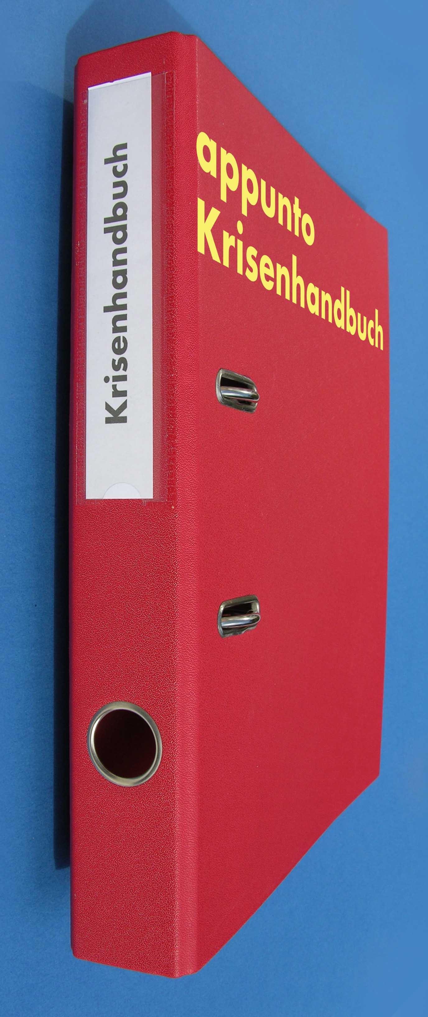 appunto - Ein massgeschneidertes Krisenhandbuch, Krisenmanual